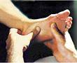 Die Fußreflexzonenmassage
