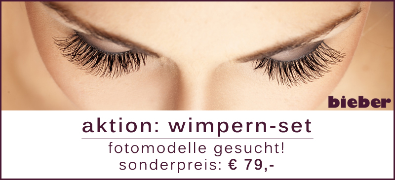 Wimpernaktion
